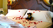 Rose Petal turn-down Extra for Country Ridge B&B in Lake Country, BC