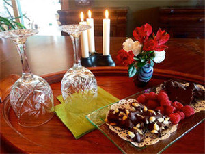 Gourmet Chocolate Tray xtra available at Country Ridge Bed & Breakfast in Lake Country